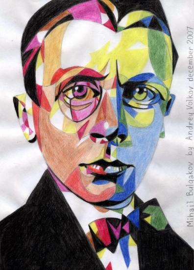 Mikhail Bulgakov by volkov